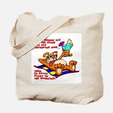 Lay on the Beach Tote Bag