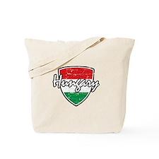 Hungary distressed Flag Tote Bag