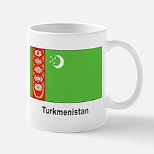 Turkmenistan Flag Mug