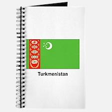Turkmenistan Flag Journal