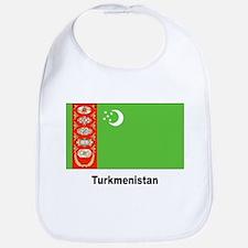 Turkmenistan Flag Bib