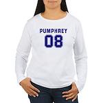 Pumphrey 08 Women's Long Sleeve T-Shirt