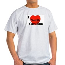 I Love N. Carolina! T-Shirt