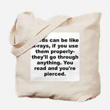 Cool Huxley quotation Tote Bag
