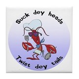 Funny crawfish Drink Coasters