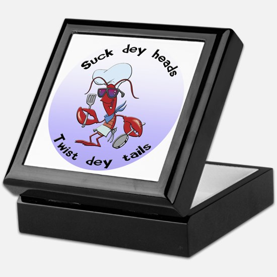 Cajun Crawfish Keepsake Box