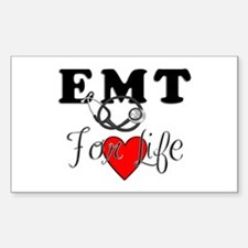 EMT For Life Stickers