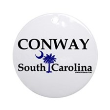 Conway South Carolina Ornament (Round)