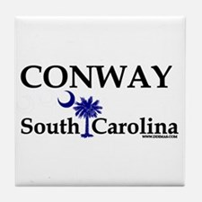 Conway South Carolina Tile Coaster
