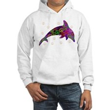 Dolphin Peace - Wednesday Hoodie