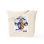 Llanos Family Crest Tote Bag