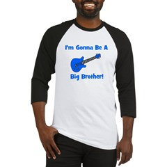 Gonna Be Big Brother - Blue G Baseball Jersey