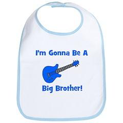 Gonna Be Big Brother - Blue G Bib