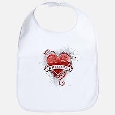 Heart Arizona Bib
