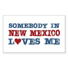 Somebody in New Mexico Loves Me Decal