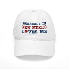 Somebody in New Mexico Loves Me Baseball Cap