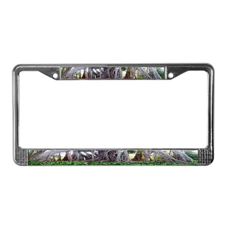 Trees License Plate Frame