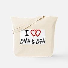 I Love Oma and Opa Tote Bag