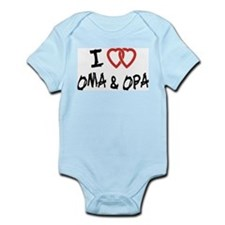 I Love Oma and Opa Onesie