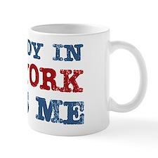 Somebody in New York Loves Me Small Mug