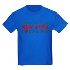 Somebody in New York Loves Me T