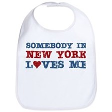 Somebody in New York Loves Me Bib