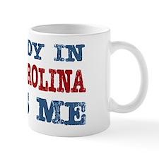 Somebody in North Carolina Loves Me Small Mug