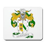 Llorente Family Crest Mousepad