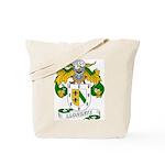 Llorente Family Crest Tote Bag