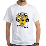 Lopez Family Crest White T-Shirt