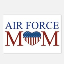Patriotic Air Force Mom Postcards (Package of 8)