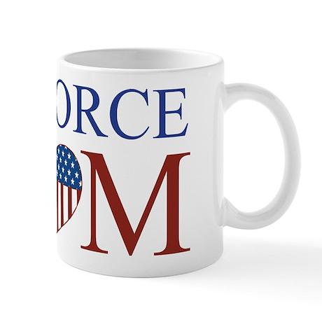 Patriotic Air Force Mom Mug