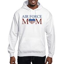 Patriotic Air Force Mom Hoodie