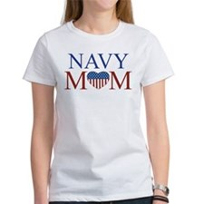 Patriotic Navy Mom Tee