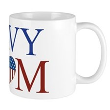Patriotic Navy Mom Mug