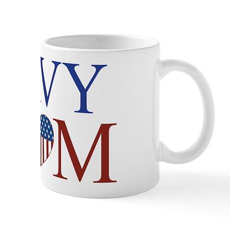 Patriotic Navy Mom Mug