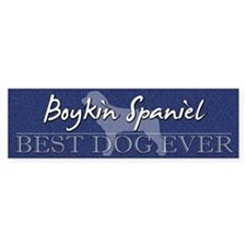 Best Dog Ever Boykin Spaniel Bumper Bumper Sticker