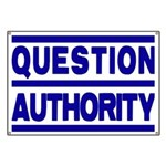 Question Authority Banner
