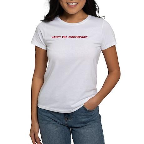 Happy 2nd Anniversary Women's T-Shirt