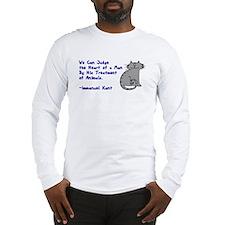 Heart of a Man... Long Sleeve T-Shirt