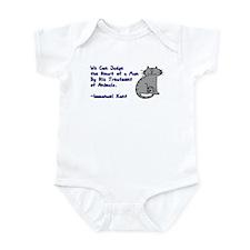 Heart of a Man... Infant Bodysuit