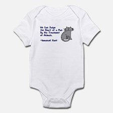 Heart of a Man... Infant Bodysuit
