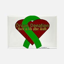 Organ Need Awareness Rectangle Magnet