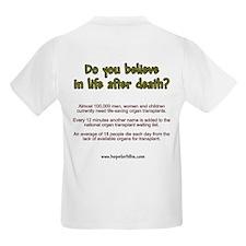 Organ Need Awareness T-Shirt