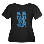 Oy The Places You'll Shlep! Women's Plus Size Scoo