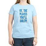 Oy The Places You'll Shlep! Women's Light T-Shirt