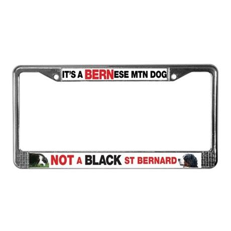 Not a Saint License Plate Frame