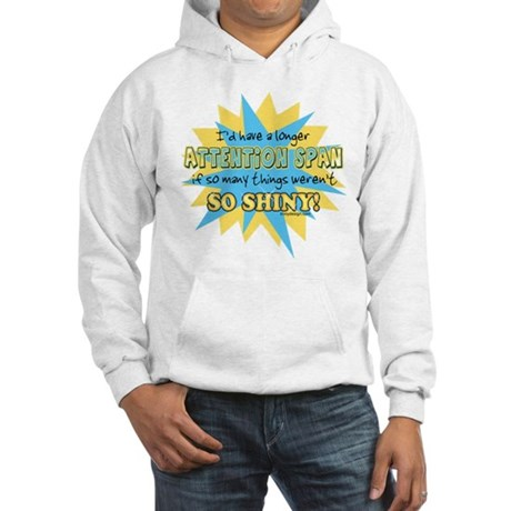 Attention Span Hooded Sweatshirt