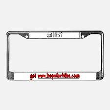Got HLHS? License Plate Frame