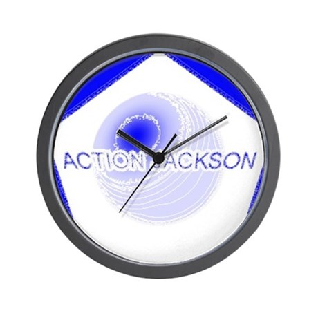 Action Jackson Wall Clock